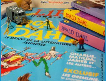 Partir en livres avec Roald Dahl