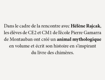 Rencontre avec Hélène Rajcak