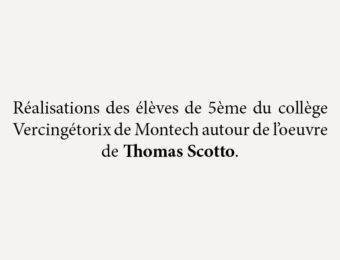 Rencontre avec Thomas Scotto