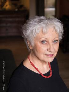 Photo portrait de l'écrivain Anne-Marie Garat par Phlippe Matsas
