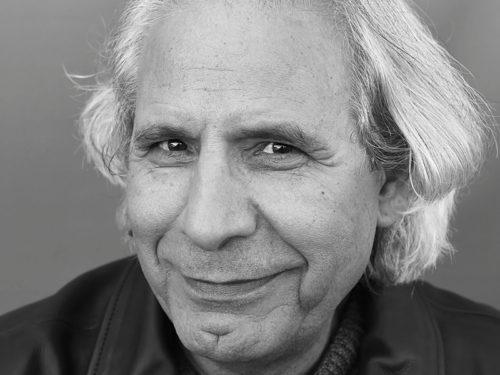Portrait noir et balnc de Salah Al Hamdani par le photographe Yvon Kervinio