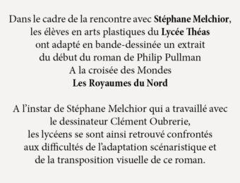 Rencontre avec Stéphane Melchior