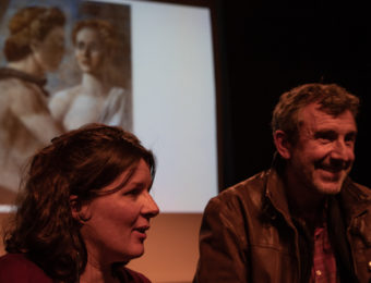 Agnès Gros et Christian Garcin