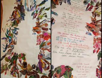 Collage joie et poésie