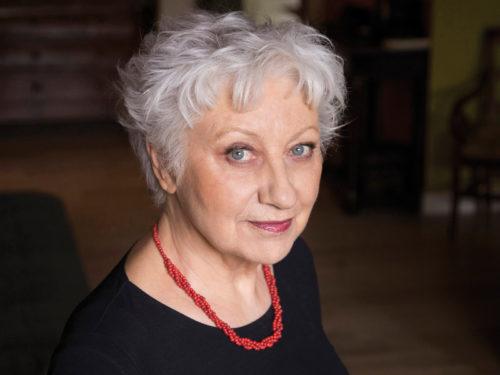 Portrait de l'écrivaine Anne-Marie Garat par le photographe Philippe Matsas