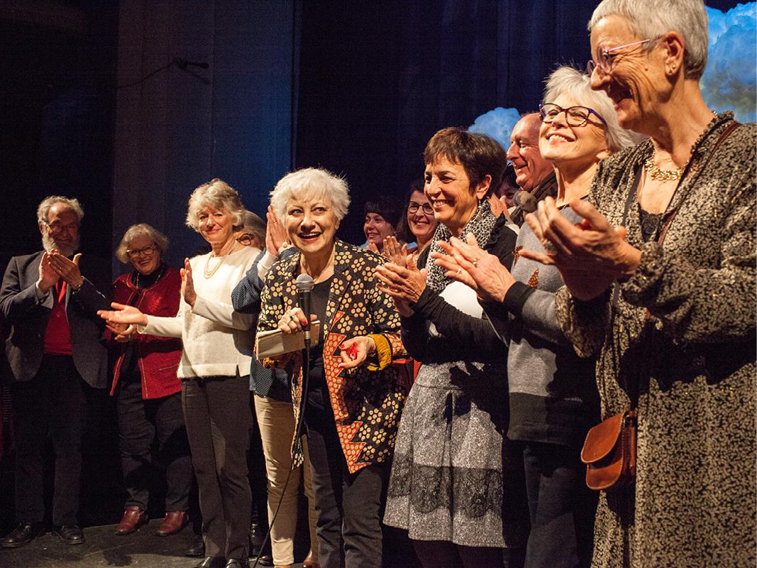 Clôture du festival Lettres d'Automne 2019 avec Anne-Matie Garat - Crédit photo Patricia Huchot Boissier