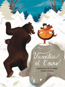"""Couverture de """"Vassilia et l'ours"""" édition Seuil Jeunesse"""