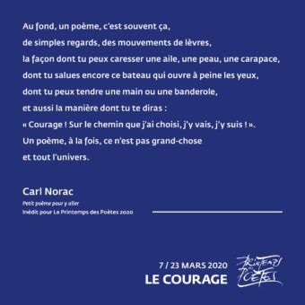 1 - Carl Norac (poème exclusif pour la catégorie 6 à 10ans)