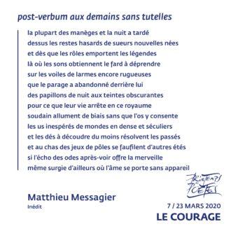 2 - Matthieu Messagier