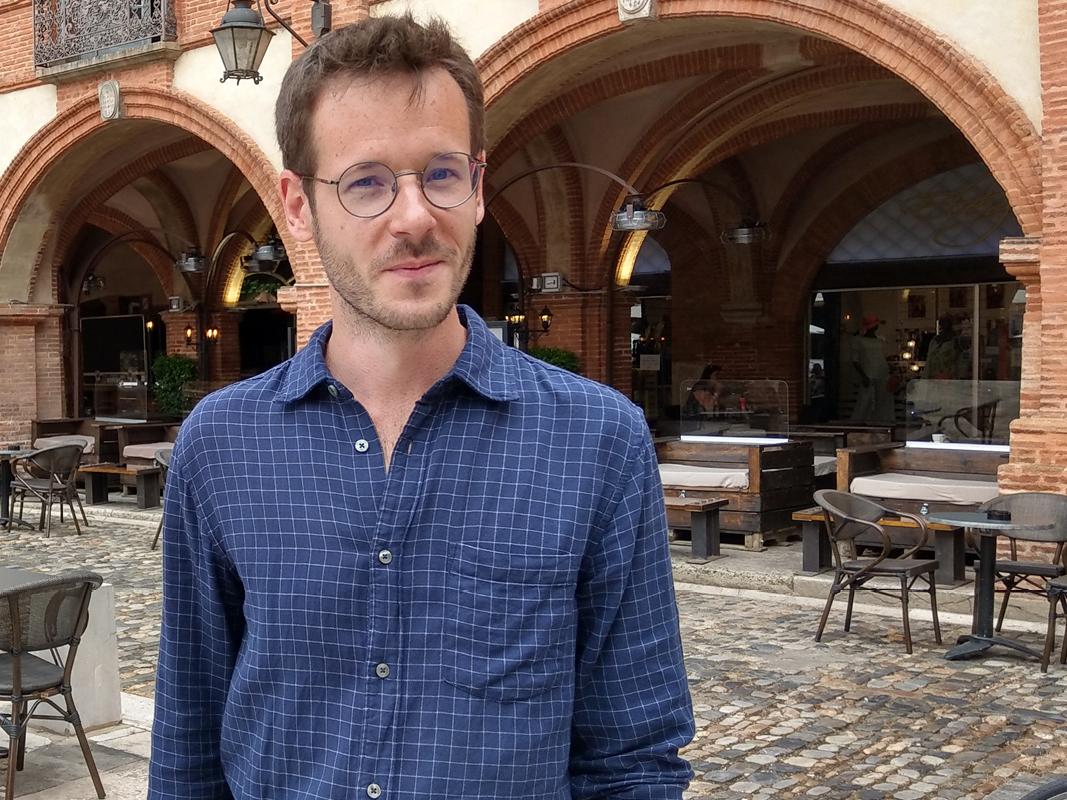 Antonin Crenn, auteur, place nationale Montauban