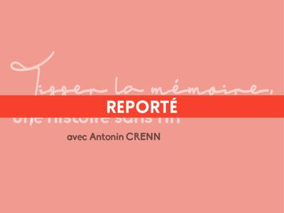 La clôture de la résidence d'écriture 2020 à Montauban est reportée
