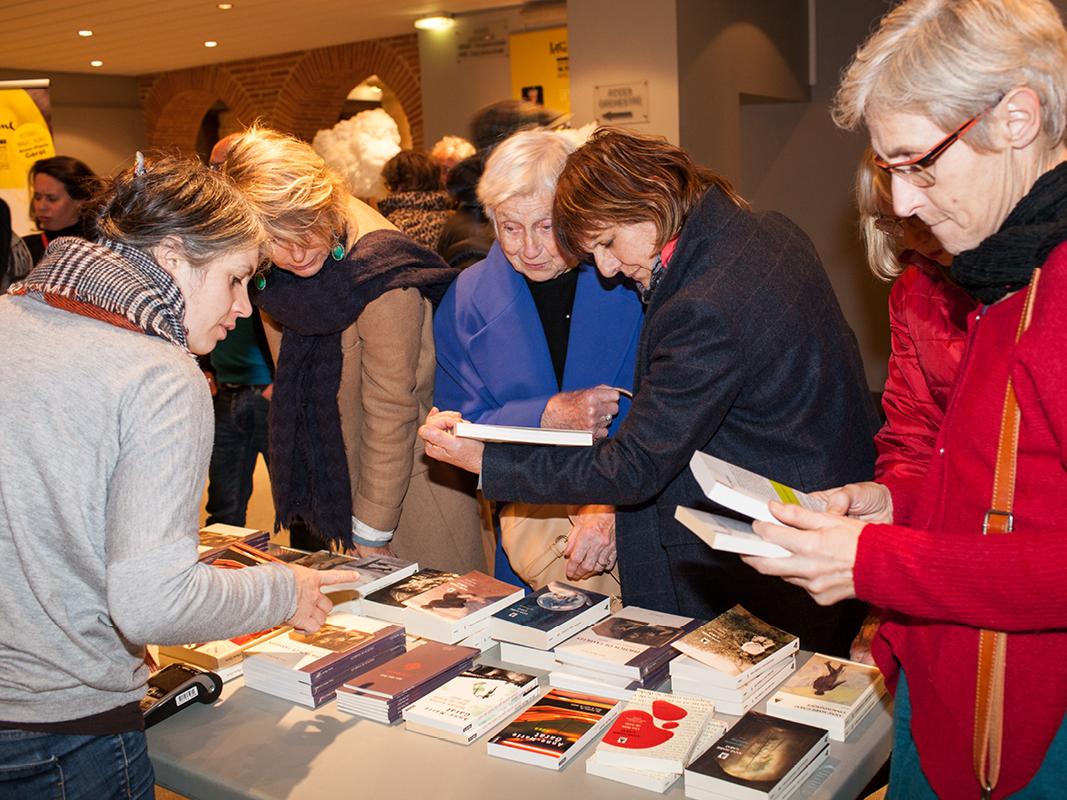 Librairie du festival Lettres d'Automne©Patricia-Huchot-Boissier