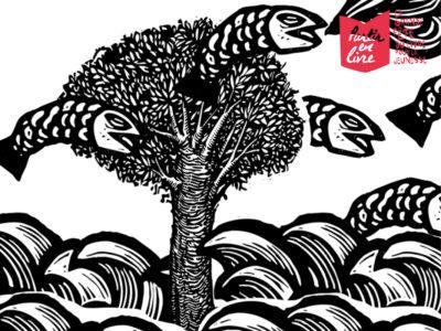 Illustration Yoel Jimenez Partir en livre 2020 avec Confluences Montauban