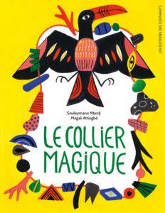 collier magique, illustration, jeunese, livre