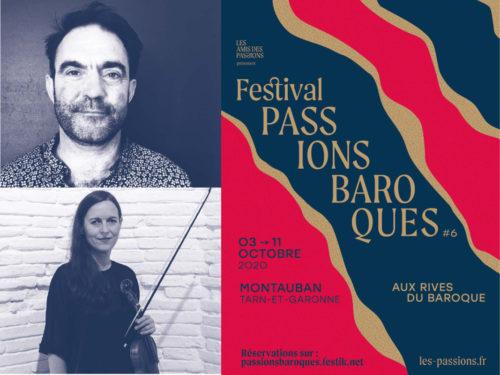 Passions Baroques Âme brisée Lecture musicale avec Stéphanie Paulet, violon solo & Olivier Jeannelle, comédien