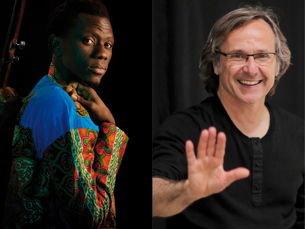 Afrique(s) Lecture et choix des textes : Marc Roger Musique : Magou Samb (guitare, chant, kora)