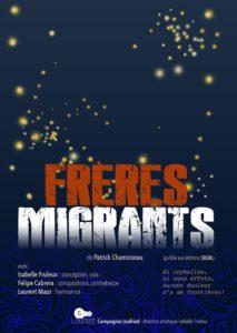 Frères migrants par la Cie Loufried au festival Lettres d'automne 2020 - Montauban