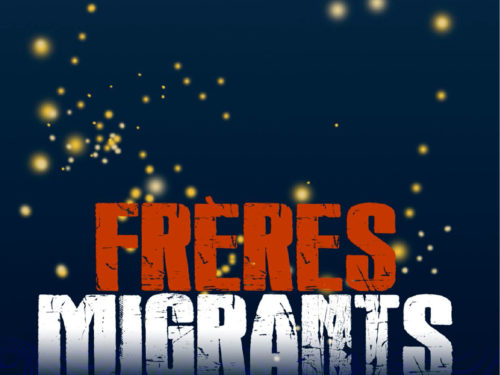 Frères migrants, texte de Patrick Chamoiseau, par la Cie Loufried, conception et voix Isabelle Fruleux, musique Samuel F'hima (contrebasse) et Laurent Maur (harmonica)
