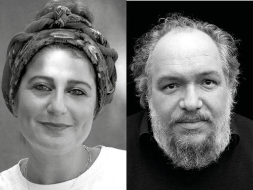 Grand entretien dessiné avec Mathias Énard Modération : Élodie Karaki - Lectures dessinées : Zeina Abirached