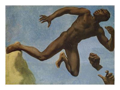 étude du corps du célèbre modèle noir, Joseph, qu'Ingres commanda en 1836 à l'un de ses élèves, Théodore Chassériau-Musée Ingres Bourdelle - Montauban