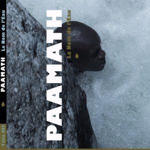 """Pochette de l'album """"Le Nom de l'eau"""" de Paamath, invité du festival Lettres d'automne 2020 - Montauban"""