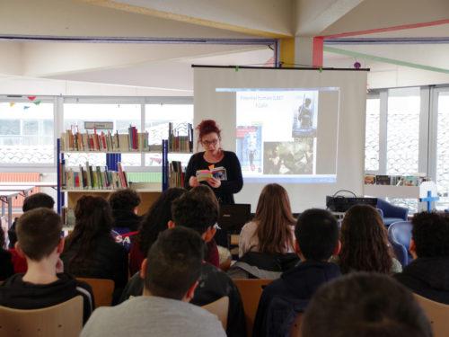 Plaisir de lire avec la comédienne Nathalie Vidal