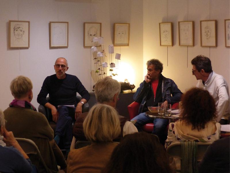 Mouloud Akkouche en résidence d'écriture à Montauban (2018)