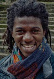 Jean d'Amérique, auteur, photo signée Marie Monfils