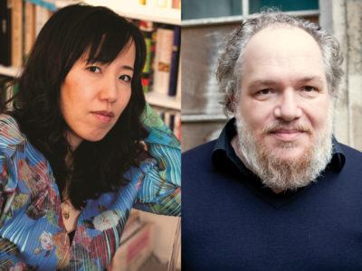 Portraits de Ryoko Sekiguchi et Mathias Énard