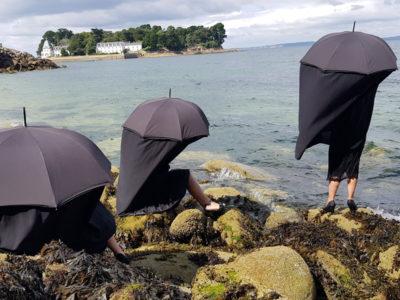 Compagnie La Passante, spectacle Les Dames parapluies